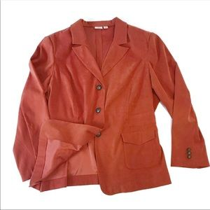 Cato Orange Blazer Sz 22W